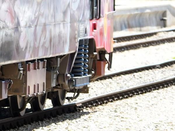 Дизелов локомотив на БДЖ от серията 07 се е сблъскал