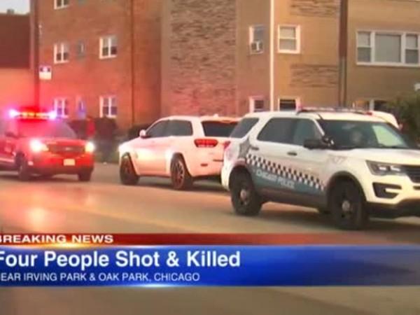 След жестокото убийство на петима души в жилищен блок в