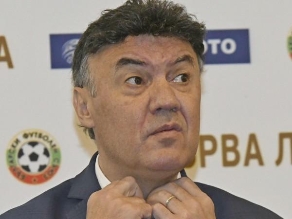 Президентът на Българския футболен съюз Борислав Михайлов подаде оставка, която