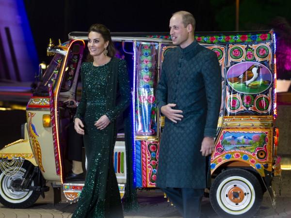 Британският принц Уилям и съпругата му, херцогинята на Кембридж Катрин,