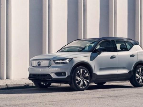 Компанията Volvo показа първия си електрически модел. Това е кросоувърът