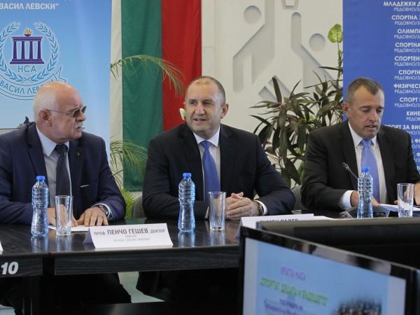 Президентът Румен Радев започва инициатива за насърчаване на физическата активност