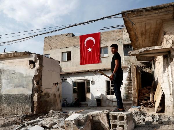 Турция се е съгласила на петдневно прекратяване на огъня в