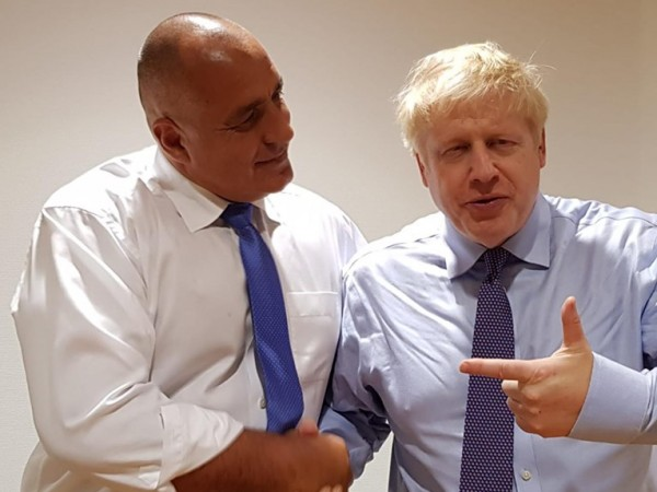 Премиерът Бойко Борисов и британският му колега Борис Джонсън категорично
