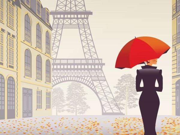 Градът на любовта Париж е също и град на тайни.