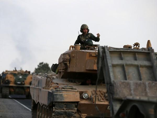 """Операцията в Северна Сирия на Турция """"Извор на мира"""" е"""