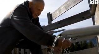 Пътят на водата: Бай Манчо построил сам над 300 чешми