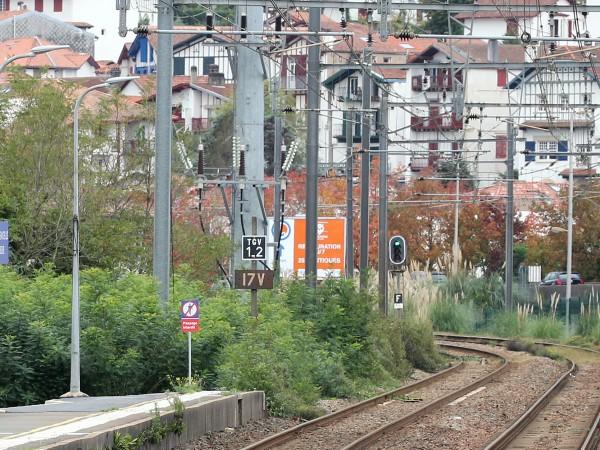 Високоскоростната жп линия между френските градове Париж и Лил бе