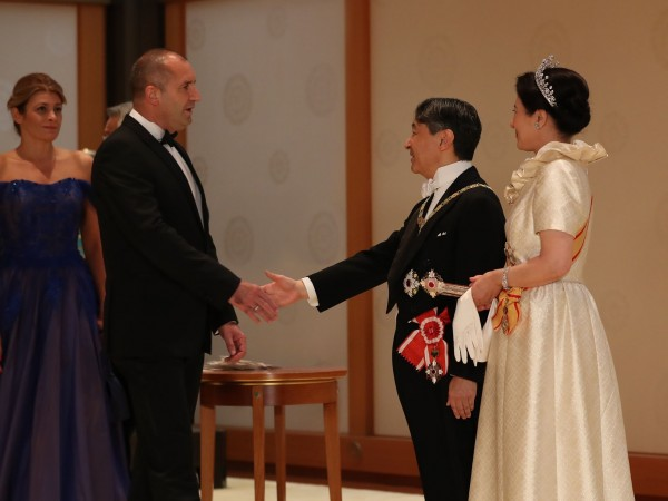 Президентът на България Румен Радев и съпругата му Десислава Радева