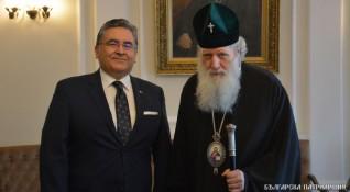 Турският посланик имал най-ползотворни отношения с църквата ни