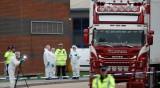 Камионът ковчег е влязъл във Великобритания от Белгия