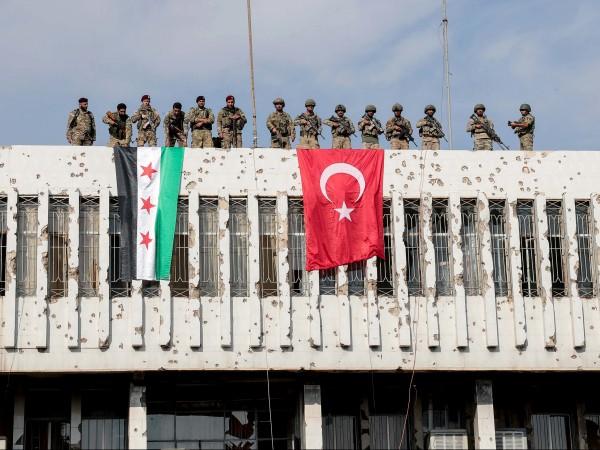 """Турската операция в Северна Сирия """"Извор на мира"""", не е"""