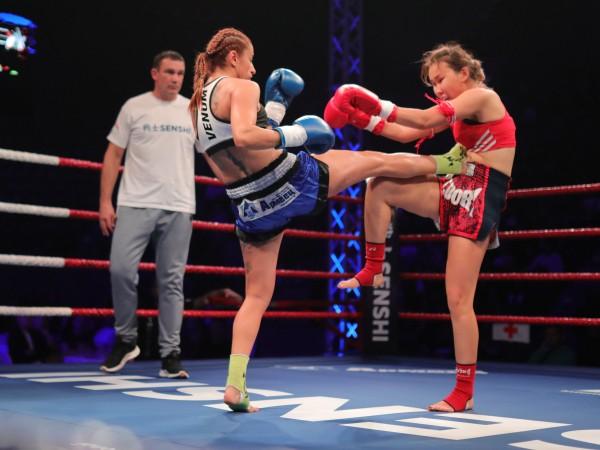 Теодора Кирилова победи рускинята Бегаим Какчекеева в историческия първи мач
