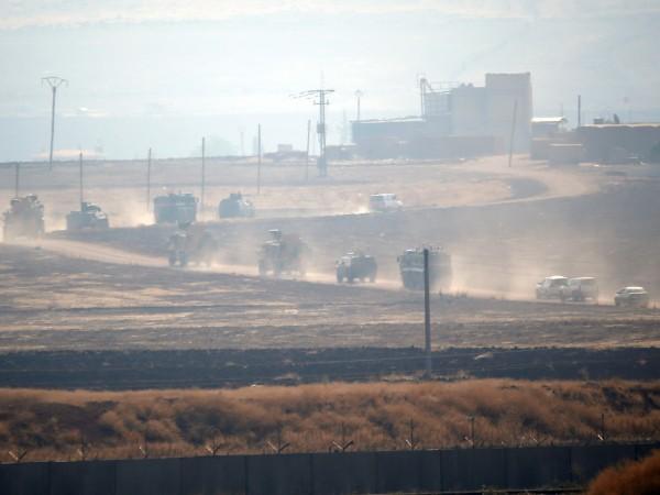 Започнаха съвместните патрули на Русия и Турция в планираната зона