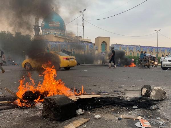Училищата и някои държавни учреждения в Багдад и Южен Ирак