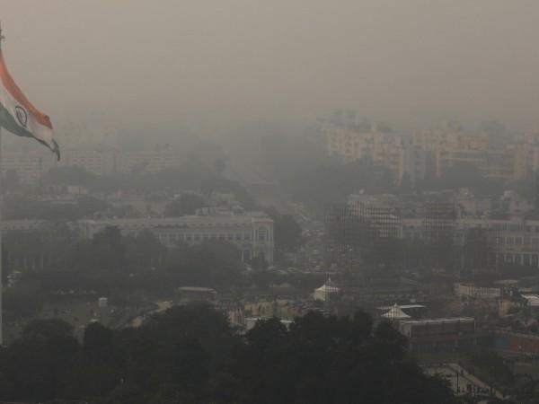 Снимка: Замърсяването на въздуха в Делхи: Като в газова камера