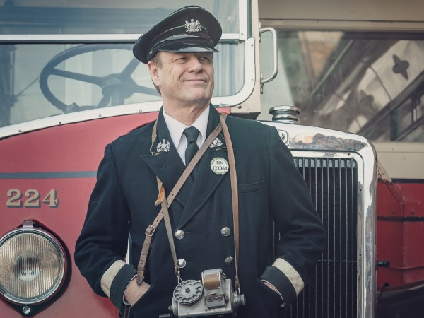 """Снимка: Актьорът Шон Бийн в един """"Свят в пламъци"""""""