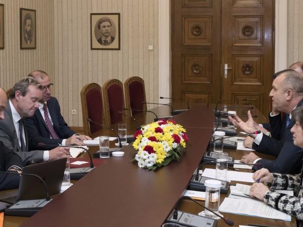 Президентът Румен Радев изрази висока оценка за препоръките в областта
