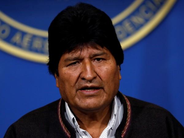 Боливийският президент Ево Моралес, който в неделя обяви оставката си