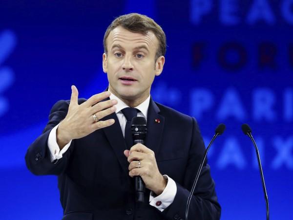 Президентът на Франция Еманюел Макрон заяви, че световната политическа система