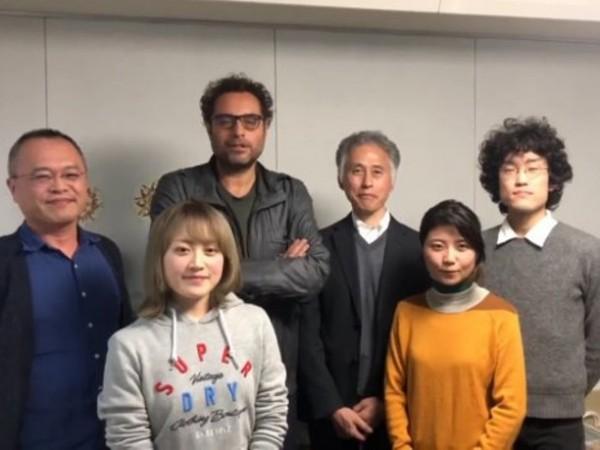 Теодор Ушев и екипът от Япония, който ще пристигне за