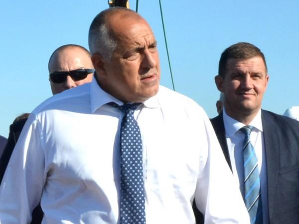 Премиерът Бойко Борисов заяви по време на церемонията по връчването