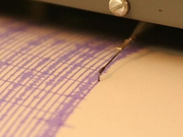 Земетресение с магнитуд 5,6 беше регистрирано днес край бреговете на