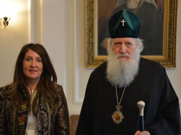 Българският патриарх Неофит прие днес новия посланик на САЩ у