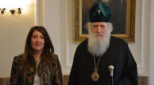 Патриарх Неофит се срещна с US-посланика Херо Мустафа