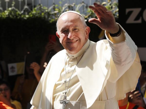 Папа Франциск отправи днес в Тайланд призив за опазване на