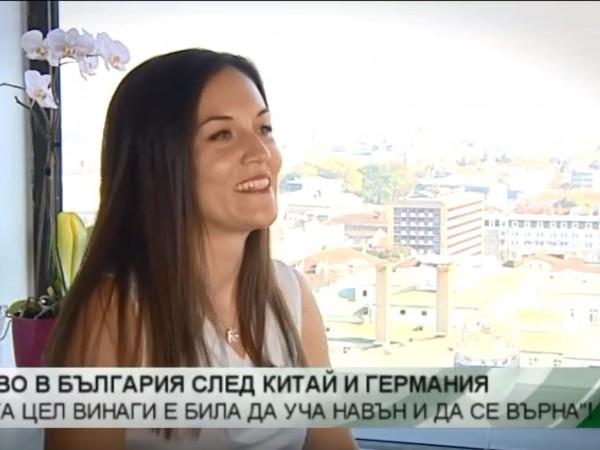 Йонел Илиева е сред малкото жени в технологичната сфера. Тя