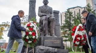 В София откриха паметник на общественика Симеон Радев