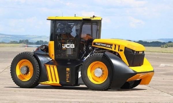 Да вдигнеш 218 километра в час... с трактор