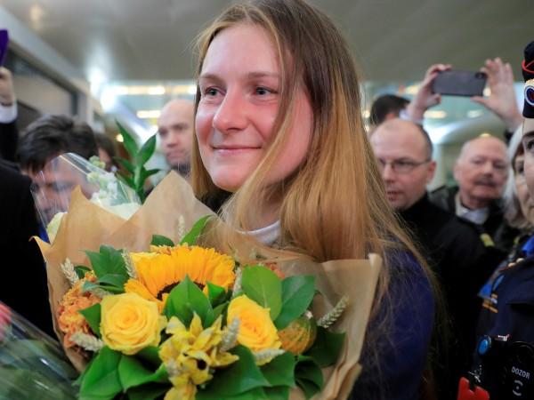 Рускинята Мария Бутина, което неотдавна бе освободена от затвор в