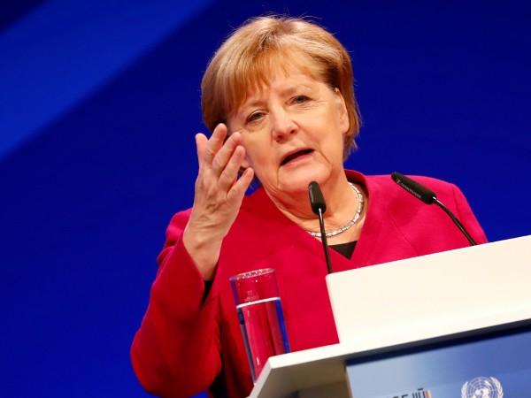Германският канцлер Ангела Меркел заяви, че сега има повече нужда