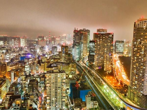 Възрастен мъж в беше арестуван в японската столица Токио, след