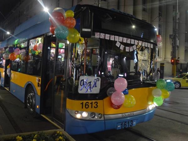 Ако желаете частно парти в трамвай от столичния градски транспорт,