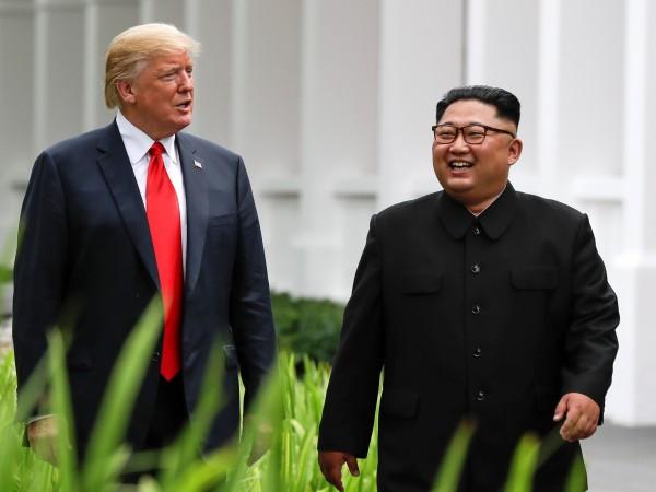 Президентът на САЩ Доналд Тръмп заяви, че лидерът на Северна