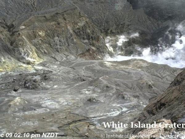 Новозеландските власти съобщиха, че вулкан е изригнал на остров Уайт,