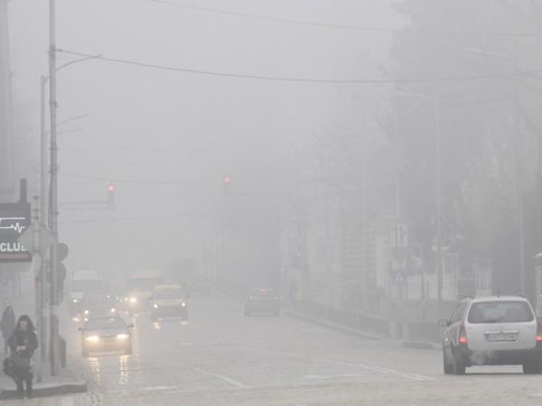Въздухът в София отново е замърсен и има превишени норми