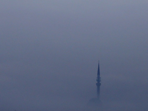 Замърсяването на въздуха в столицата на Босна и Херцеговина Сараево