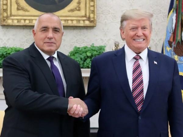 Българин превеждаше на Доналд Тръмп при срещата с Бойко Борисов