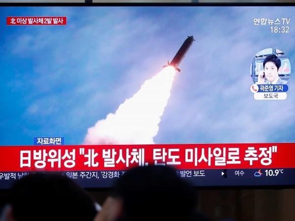 На 7 декември Северна Корея е извършила изпитание на ракетен