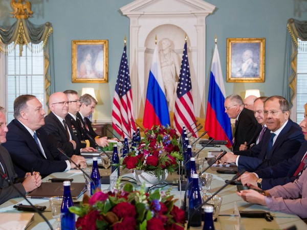 Американският президент Доналд Тръмп се срещна с руския министър на