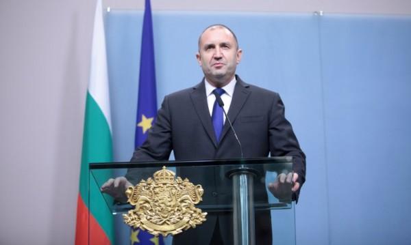 Радев: Българите да възпитат политиците да живеят само от заплата