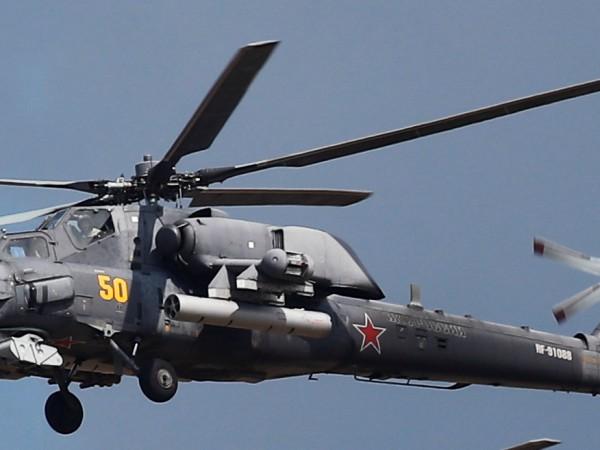 Атакуващ боен хеликоптер Ми-28Н катастрофира в Краснодарския край в Южна