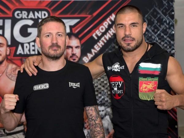 Родният боец Георги Валентинов бе освободен от втората по престижност