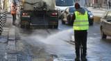 София отново чиста, започва миене на булеварди