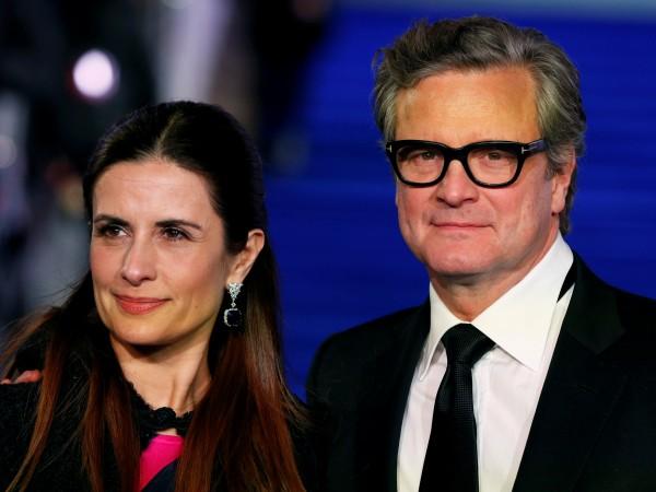 """Британският актьор и носител на """"Оскар"""" Колин Фърт и съпругата"""