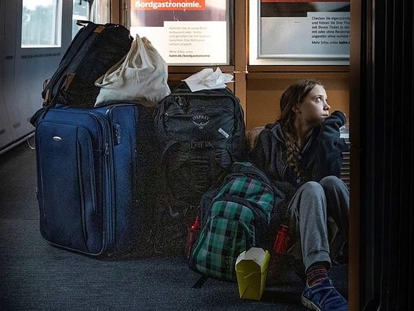Резултат с изображение за Лъже ли Грета? Deutsche Bahn твърди, че е пътувала в първа класа